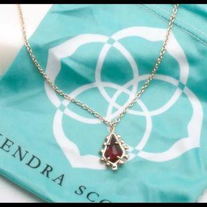 Kendra Scott Juniper drop necklace